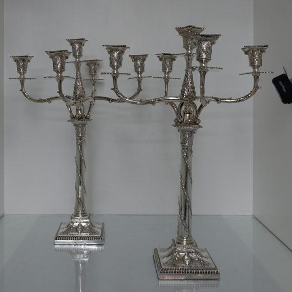 pair of candelabra