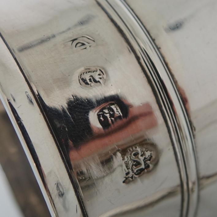Queen Anne 18th Century Antique Silver Mug London 1709