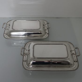 pair entree dishes