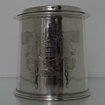 tankard and cover