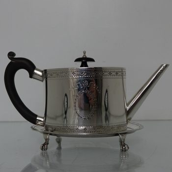 teapot on stand