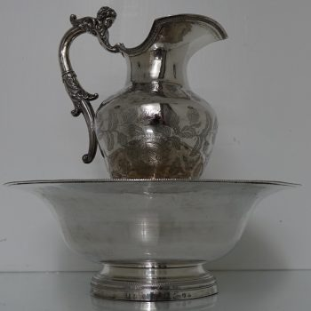ewer and basin