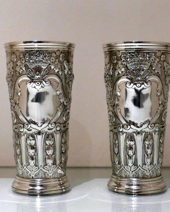 pair flower vases