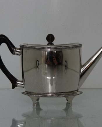Dutch teapot on stand