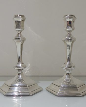 hexagonal candlesticks