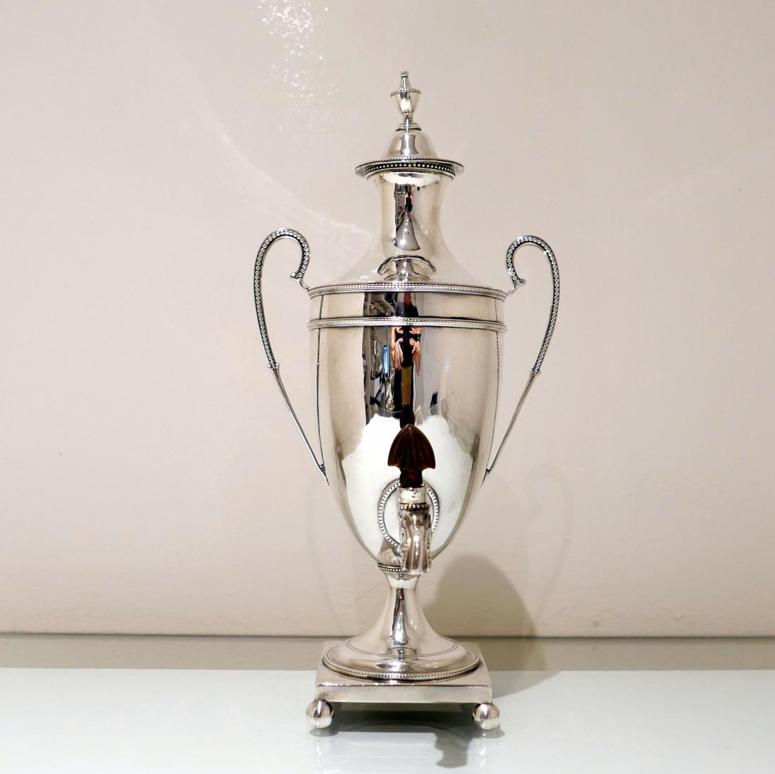 George Iii Sterling Silver Coffee Urn