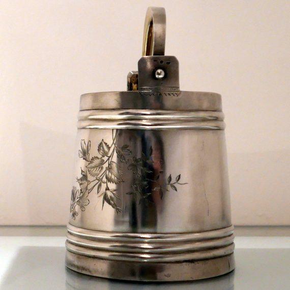 russian silver ice bucket