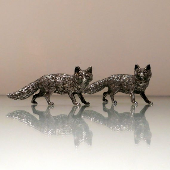 pair foxes