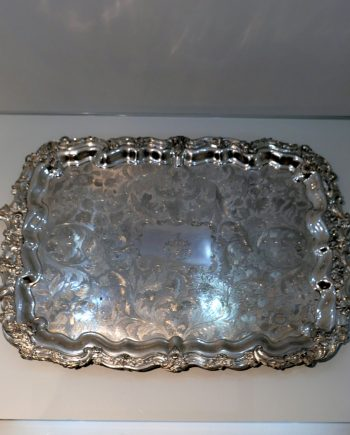 old sheffield tray