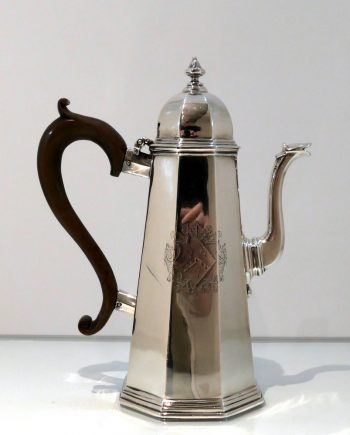 octagonal coffee pot