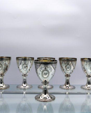 six goblets